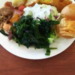 Ocean table - 料理写真:サラダやパン