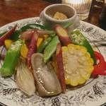 72264844 - 季節野菜のヴァプール