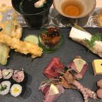 サカナスペース - お魚和んプレート1380円