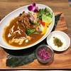ラナイカフェ - 料理写真:グリルチキンと彩り野菜のカレー  ¥1,382