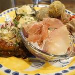 ラ・タヴォロッツァ - 前菜盛り合わせ