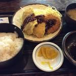 多気 - ミックスフライ定食