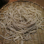 武蔵野そば処 - 蕎麦は見た目からしてちょっと乱雑