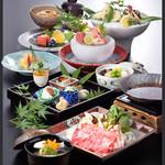 四季彩 - 秋の特別会席「松茸会席」※2017/8/30~9/26のメニュー
