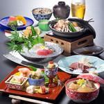 四季彩 - 「梅鶏の陶板焼き会席」※2017/8/30~9/26のメニュー