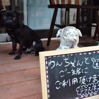 ★愛犬と一緒に☆テラス席☆わんちゃんのおやつメニューも有★