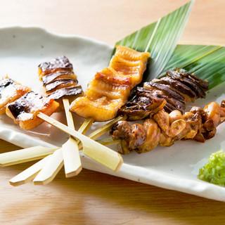 """自慢の""""うなしゃぶ""""から""""鰻串""""など20種類以上の鰻料理!"""