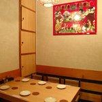 シンバシ テッパン - 6人掛テーブル