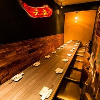 全席個室の大人の隠れ家◆最大30名様までOK!