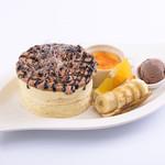 Sweets Smile - 『チョコレートパンケーキ』 ※フルーツは季節により変わります