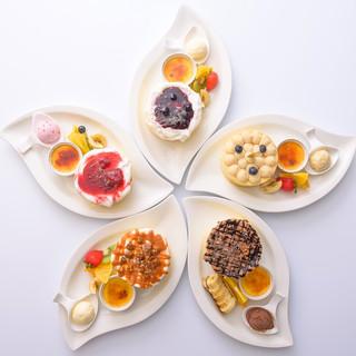 北海道産100%の米粉・小麦粉と有機豆乳のパンケーキ