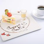Sweets Smile - 『スナッフルスのケーキ』かわいいデコレーションとミニプリンを添えてお出しします
