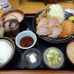 とんかつ 栄ちゃん - どろぶたのひれかつ定食