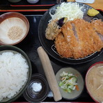 とんかつ 栄ちゃん - 料理写真:飛騨旨豚の厚切りロースかつ定食