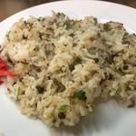 ムツヤ - 料理写真:山椒ヤキメシ
