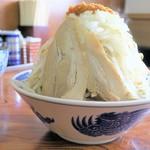 東葛マルカク - 料理写真:ラーメン+野菜チョイ増しにんにく