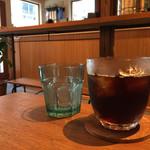 ユニゾン・テイラー・コーヒー・アンド・ビール - アイスコーヒー 430円(今日はグアテマラを選びました)