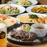 フットニック - ¥4,000コース お料理全6品+2H飲放付き★2種類の樽生ビール,赤身肉の肉盛り鉄板プレート付きコース!