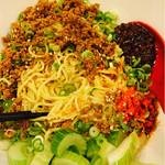 武蔵坊 - ビビン麺2辛+セロリ