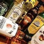 ジパングカリーカフェ 和風カレー ヒゲ ボウズ - リキュール、ウィスキー各種あります☆