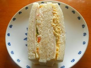 庚申塚丸十パン店 - ミニサンド