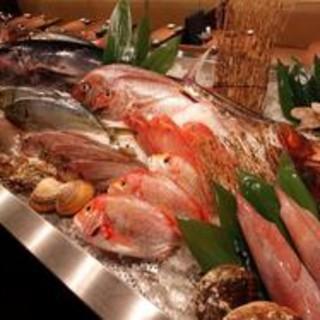 全て北陸直送の天然地魚
