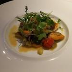 72282915 - お魚のムニエル ムール貝のソース