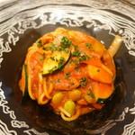レジーナ イタリアーナ - 夏野菜のアラビアータスパゲティ