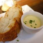 北浜ダイナー - 冷製チーズフォンヂュ