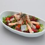 みかわの郷 - 海鮮サラダ