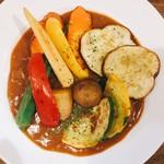 季節のオーガニック野菜カレー