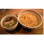 壱番亭 - つけ麺(大盛り) 750円