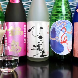選りすぐりの日本酒《約30種類》