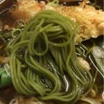 まるみ江戸東 - 麺アップ
