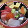 都寿司 - 料理写真:「二重ちらし」の上段