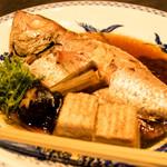 おもてなし旬魚 踊る魚 - のどぐろの煮つけ