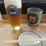 都寿司 - 「生ビール」など