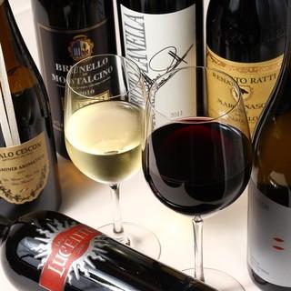 100種以上のイタリアワイン