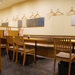 諸国 ひものと - 店内の様子 テーブル席