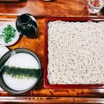 萩の茶屋 - 『つけとろ蕎麦(大240g)』様(1130円)