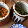 かつ勢本店 - 料理写真:お漬物2種類…ホントはきゅうりがよかった(^^;)