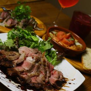 イタリアに刺激を受けたオーナーが手掛ける工夫を凝らした料理