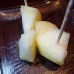 タチヒコ キッチン310 - 締め(リンゴ)
