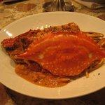 ビストロ フレッシュ - 渡り蟹のトマトクリームパスタ