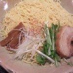 麺処 銀笹 - 意表を突かれた!つけ麺は細麺!