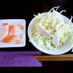ルゥアイ ルゥアイ - Luai-Luai @葉山 ランチセットに付くタイ風サラダとタイ風漬け物