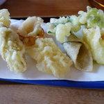 7230866 - 野菜天ぷらの盛合せ