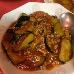 萬里 - 茄子の辛子炒め