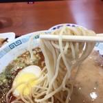 桂花ラーメン - 麺