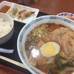 桂花ラーメン - ラーメン定食